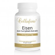 Cellufine® Eisen aus Curryblatt-Extrakt - 7 mg - 60 vegane Kapseln