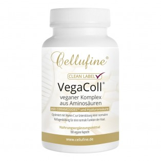 Cellufine® VegaColl vegane Collagen-Alternative - 180 Kapseln